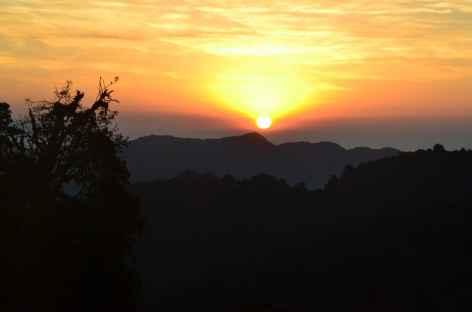 Lever de soleil, Thadapani - Népal -