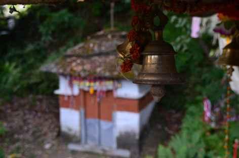 Petit temple à Swanta - Népal -