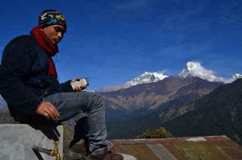 Népalais à Ghorepani - Népal -