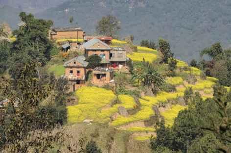 Village depuis les routes népalaises - Népal -