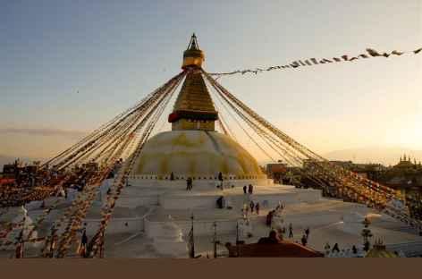 Stupa de Bodnath, Kathmandu, Népal -