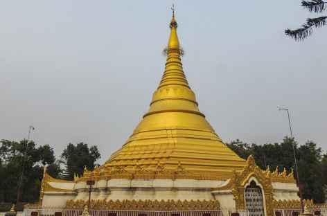 Diversité des monuments à Lumbini - Népal -