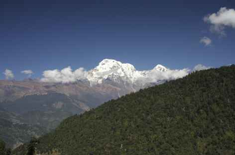 En chemin les sommets se dévoilent, Népal -