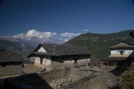 Vue de Majgaon - Népal -