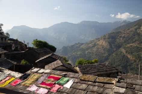Vue sur la vallée - Népal -