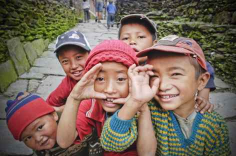 Les petits coquins du coin - Népal -