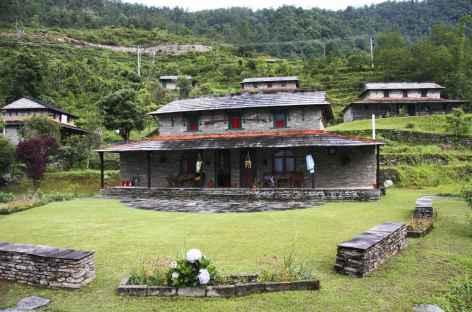 Architecture Gurung, Annapurna - Népal -