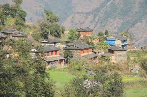 Village des Annapurnas  - Népal -