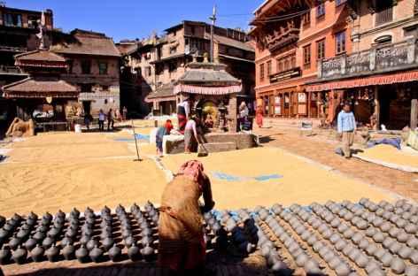 Place des Potiers Bakthapur- Népal -