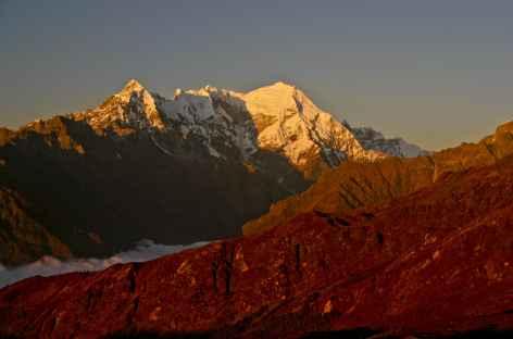 Le massif du Langtang Lirung - Népal -