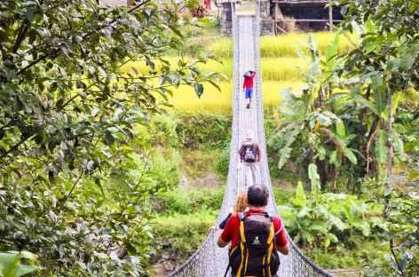 Journée de trek dans la vallée d'Helambu - Népal -