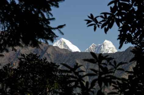 Panorama sur le Lagntang Himal - Népal -