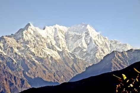 Le Langtang Lirung au petit matin - Népal -