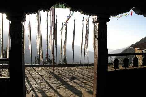 La gompa de Melamchi Gaon - Helambu - Népal -