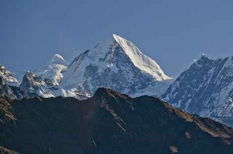 Vue sur le Lagntang Himal - Népal -