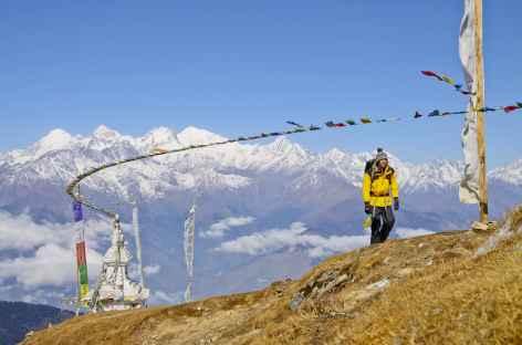 Trek face à la chaîne du Ganesh Himal - Népal -