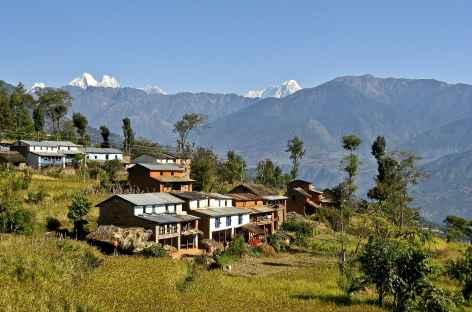 Le village de Kakani, Helambu - Népal -