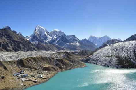 Depuis le Gokyo Peak - Népal -