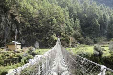 Retour en vallée - Népal -