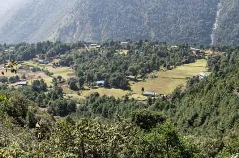 Entre Lukla et Phakding - Népal -