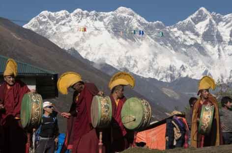 Cérémonie à Tengboche - Népal -