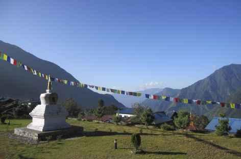Vue de Lukla  - Népal -