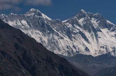 Vue sur l'Everest et le Lhotse - Népal -