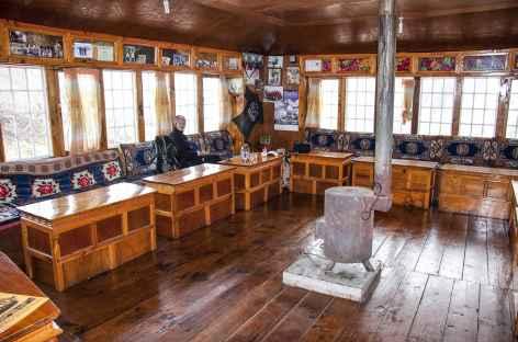 Salle commune d'un Lodge - Népal -