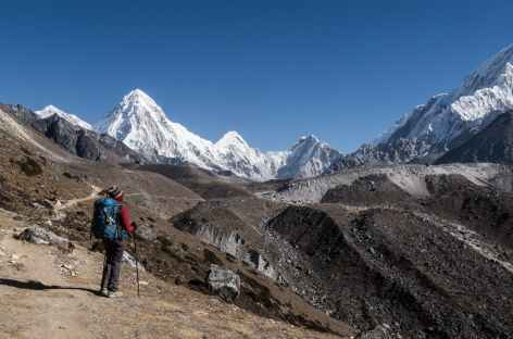 Montée à Lobuche - Népal -
