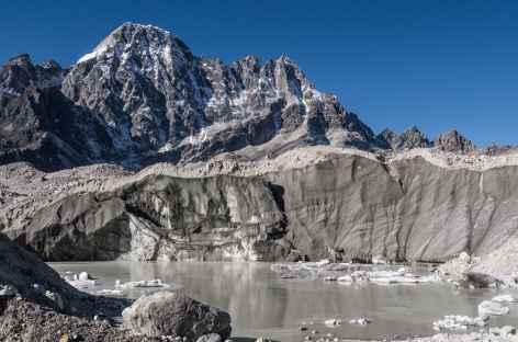 Passage de la moraine avant Dragnag - Népal -