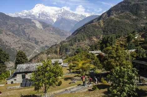 Vue depuis Majgaon - Népal -