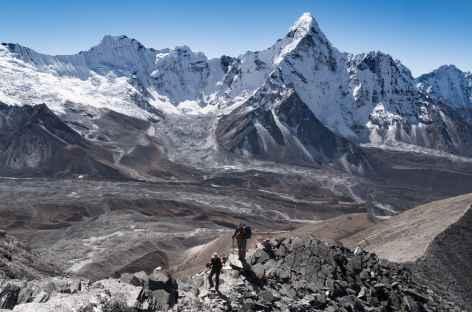 Arrête sommitale Chhukung Ri - Népal -