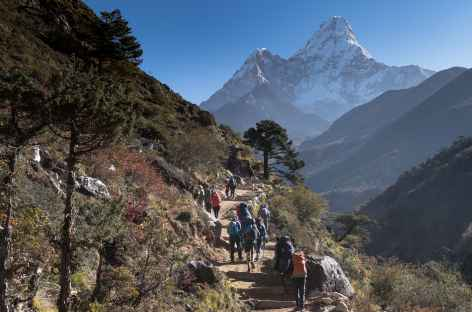 L'Ama Dablam omni présent - Népal -