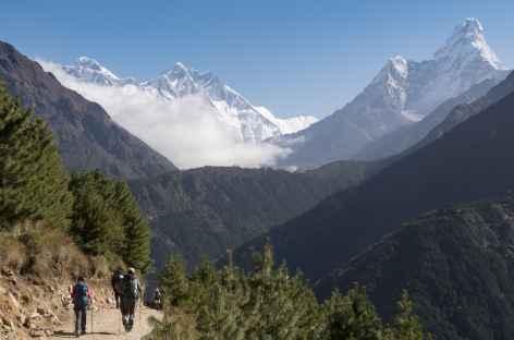 L'Ama Dablam depuis le chemin - Népal -
