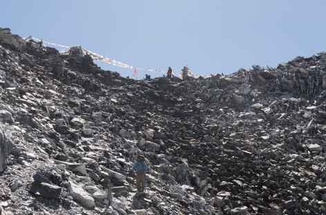 Descente du Kongmala - Népal -