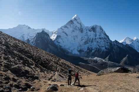 Montée au Kongmala - Népal -