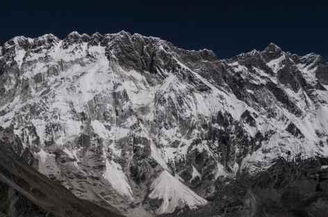 La face du Nupse - Népal -