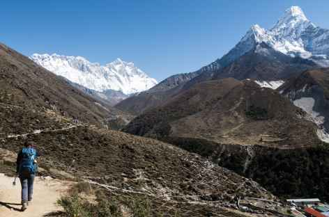 Peu avant Dingboche - Népal -