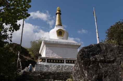Stupa le long du chemin - Népal -
