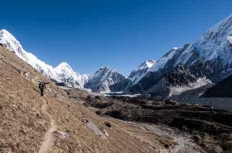 Montée à Gorak chep - Népal -