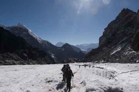 Le glacier du Cho la -Népal -