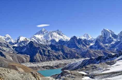 Depuis le col du Renjo la (5340 m) - Népal -