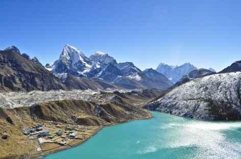 Vue du Gokyo peak - Népal -