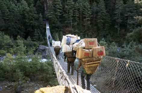 Hommage aux porteurs - Népal -