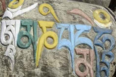 Pierre à Mani - Népal -