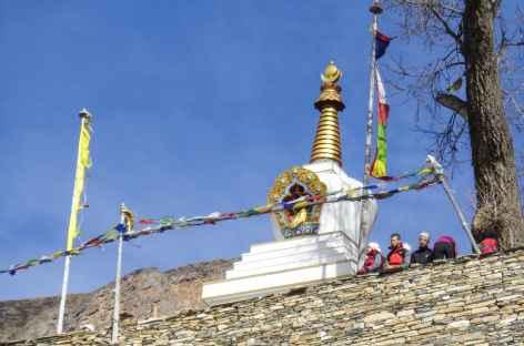Stupa à Pisang - Népal -