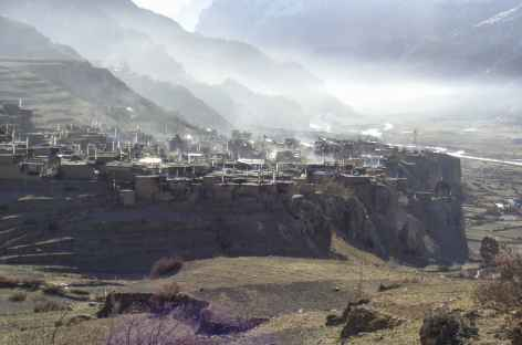 Village de Manang - Népal -