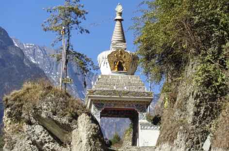 Entrée des villages - Népal -