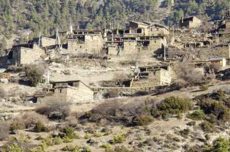 Village de Upper Pisang - Népal -