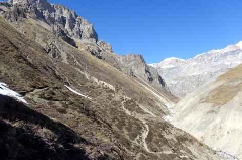 Sentier de Thorong Phedi - Népal -